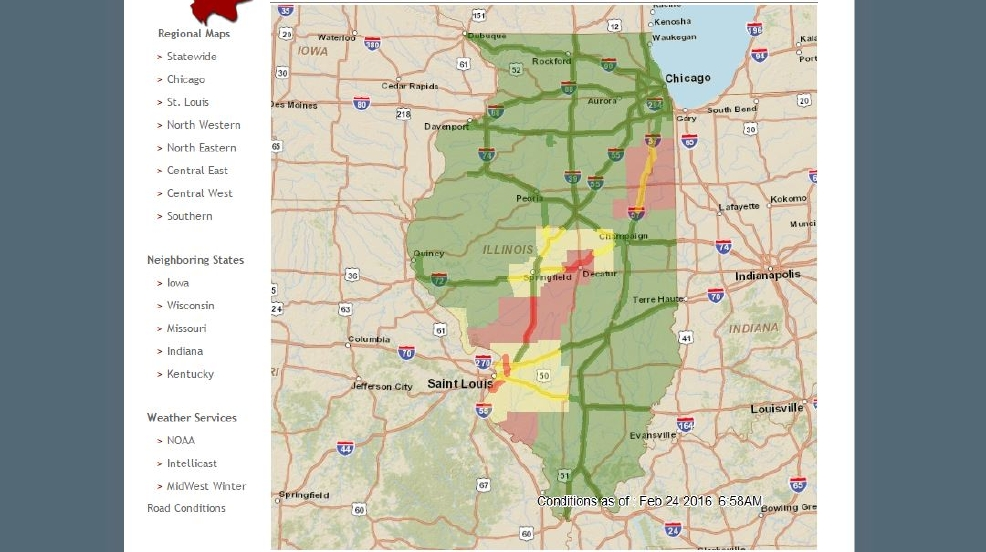 il highway map with Road Conditions Around Central Illinois on Oman in addition 96 moreover Maps And Directions 2 moreover Detail 2015 Harley davidson Cvo street glide flhxse Cvo street glide Used 16928295 likewise 14674879081.