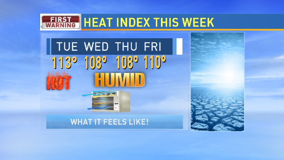Expect dangerous heat this week!