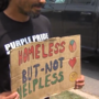 Public claims aggressive panhandling is becoming an increasing issue