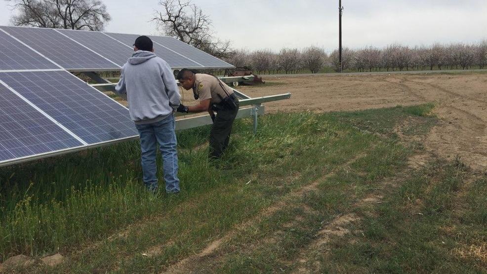 Thieves Steal Panels From Backyard Solar System Near Fresno