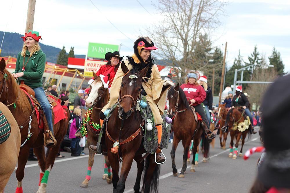 The 63rd Annual Springfield Christmas Parade took place in Springfield, Ore., Saturday, Dec. 5. Photo by Claire Aubin.