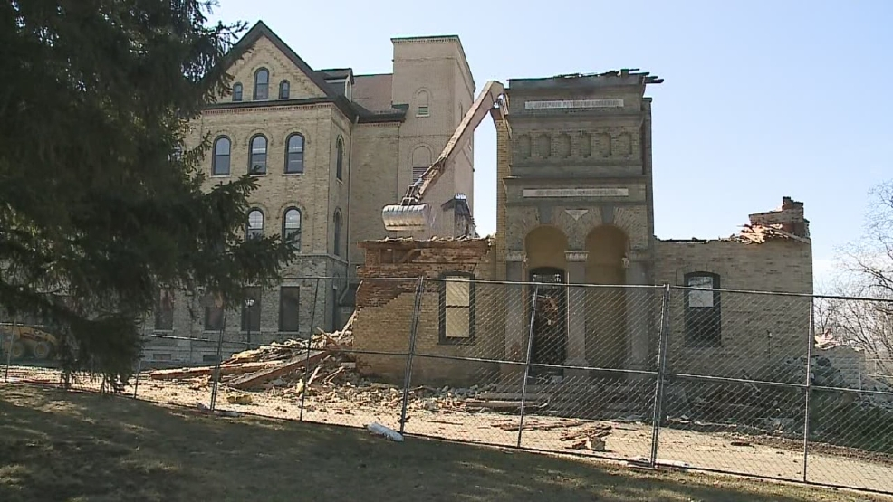 Thumbnail for St. Joseph Hall demolition extended video