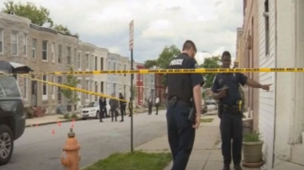 Victim drives to hospital after midday shooting in West Baltimore