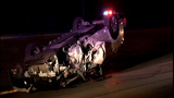3 firefighters among those injured in wrong-way crash