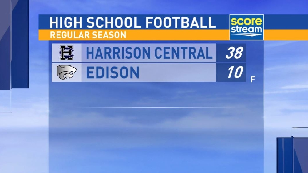 10.7.16 Highlights: Harrison Central at Edison