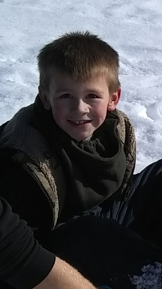 Hunter Heineman, 7, died in a car accident over the weekend, while his family was on their way back from a day of playing in the snow. These are some of the last pictures his mom took of him.