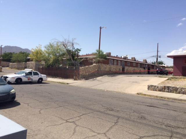 Police are investigating a stabbing on Harrison Avenue in Central El Paso.