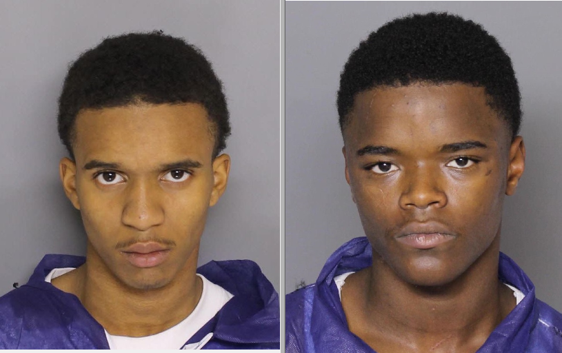 (Left to right) Brekwan McFadden, Melvin Thompson (Courtesy: Baltimore County Police Department)<p></p>