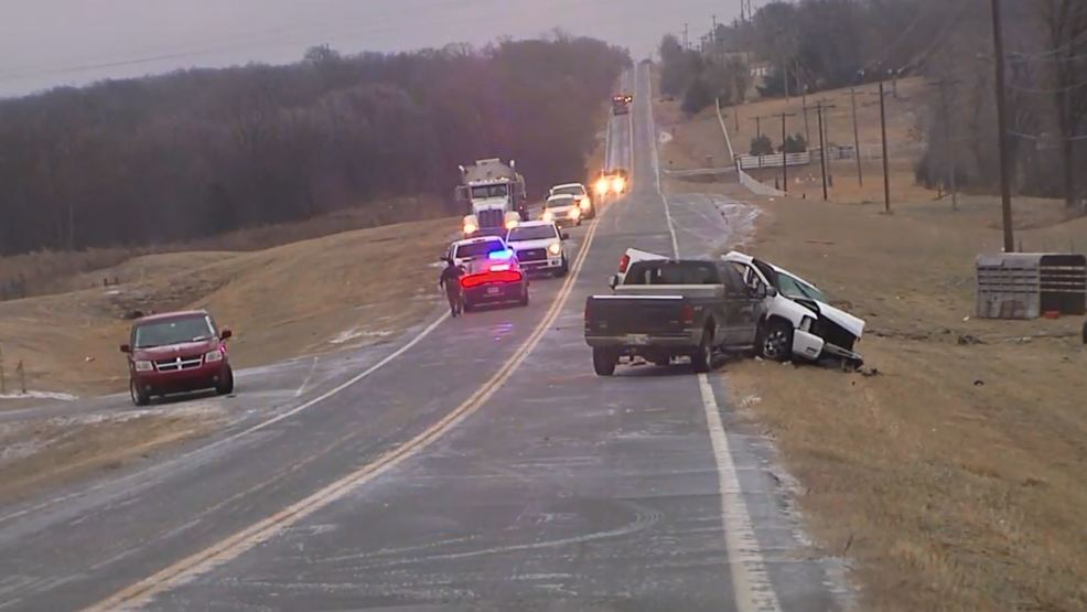 OHP identifies man killed in crash on icy road near Bristow