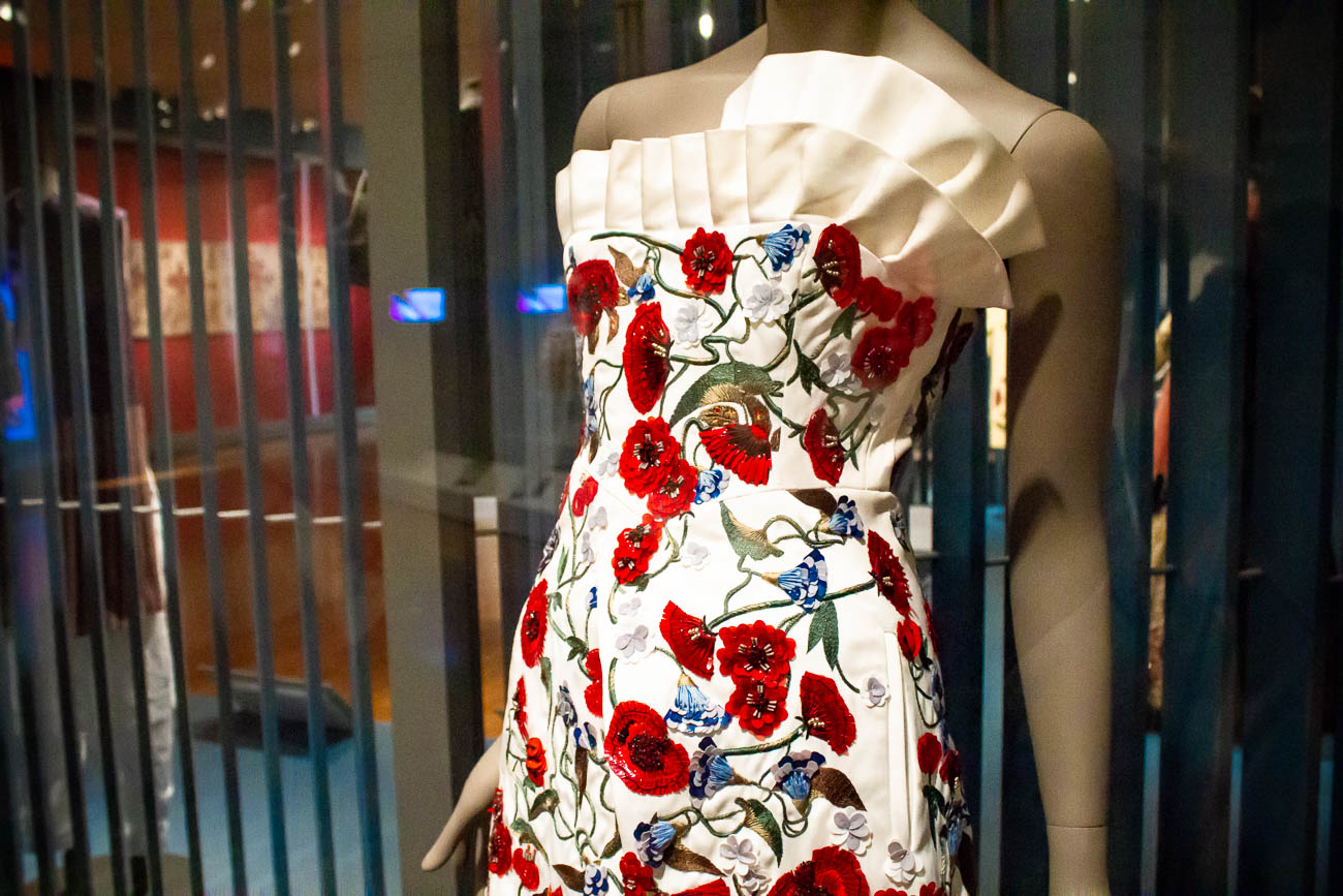 """Poppy Dress"" by Osman Yousefzada was worn by Emma Watson to the 2016 White House Correspondents' dinner.{&nbsp;}/ Image: Katie Robinson, Cincinnati Refined // Published: 10.22.18<p></p>"