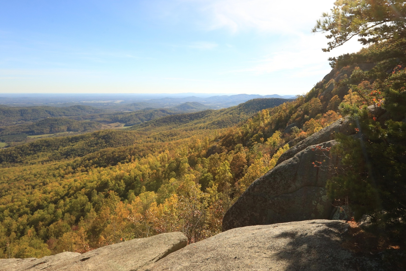 From the summit of Old Rag to Skyline Drive,  the leaves have finally started to change in Shenandoah National Park. Although the foliage doesn't last long, it's worth the trek experience this natural beauty.  (Amanda Andrade-Rhoades/DC Refined)