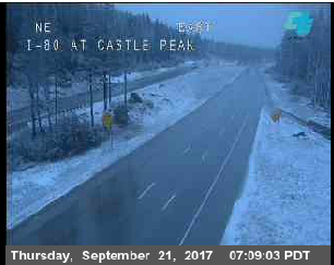 I-80 Castle Peak. Courtesy Caltrans