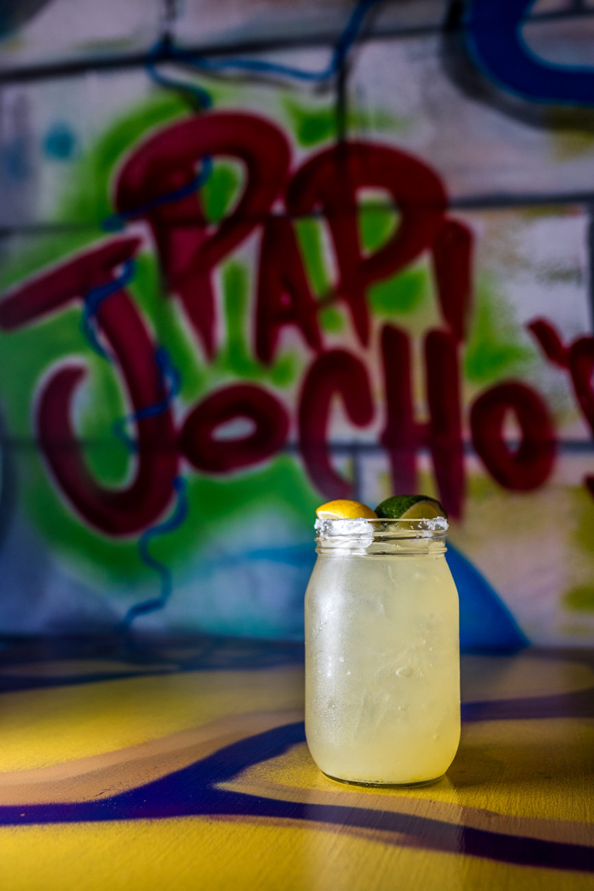 El Cadellac Rita: Anejo tequila, Grand Marnier, fresh lime juice, sugar water, and a splash of freshly squeezed orange juice / Image: Catherine Viox // Published: 8.24.20