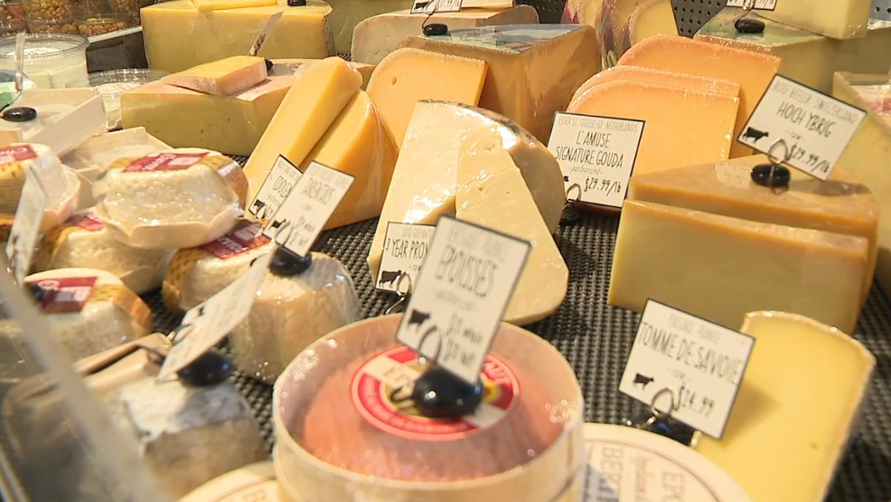 TARIFFS TAKE EFFECT   Imported cheese & wine could soon cost more