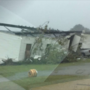 High winds topple Darlington County home