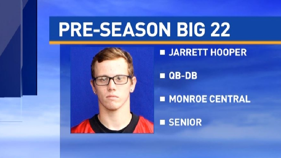 Preseason Big 22: Jarrett Hooper, Monroe Central
