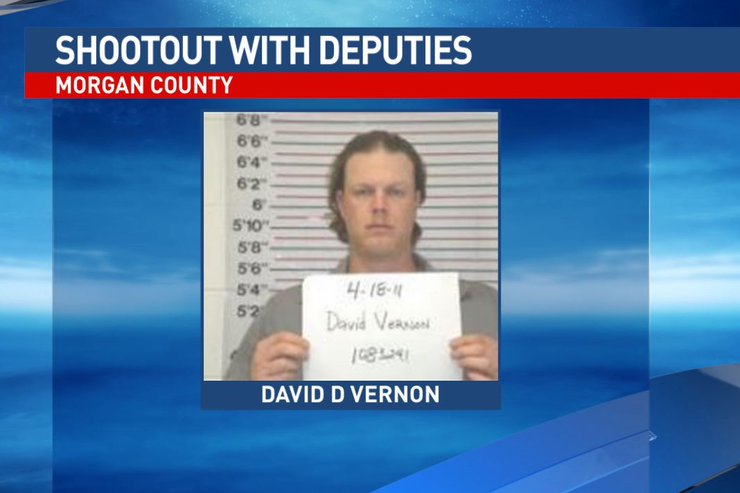 Investigators arrested David Vernon, a member of the Aryan Brotherhood, a white supremacy group that is anti-minority and anti-law enforcement. He's facing 11 charges. Photo from the Missouri DOC.