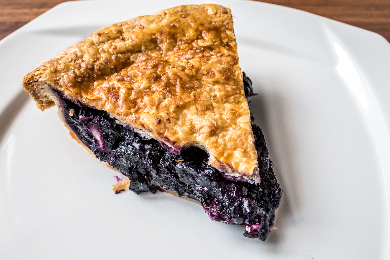 Blueberry Pie: blueberries, lemon zest, and bitters / Image: Catherine Viox{ }// Published: 9.16.20