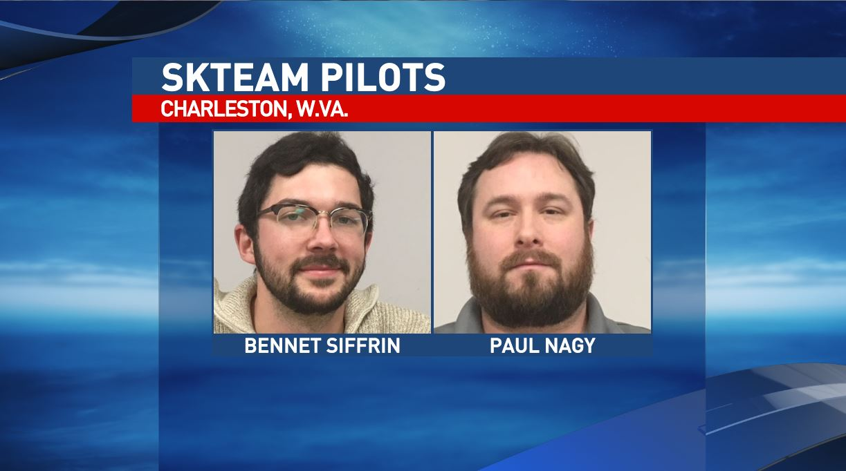 The SkyTeam pilots are Bennet Siffrin, left, and Paul Nagy. (WCHS/WVAH)<p></p>