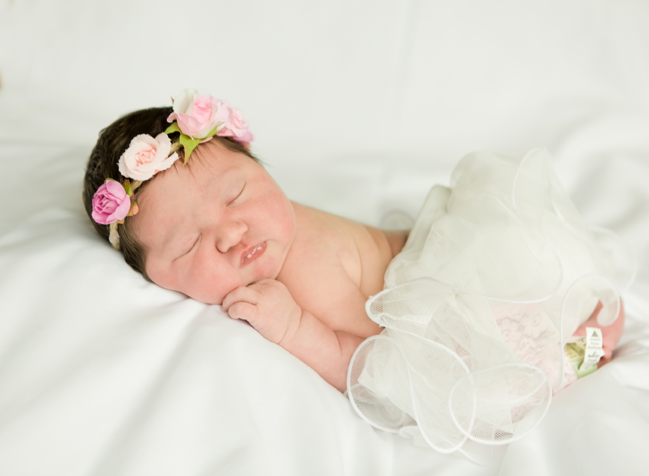 Aaliyah, our Baby of the Day for April 14, 2016. Photo courtesy of Palms West Hospital and Bella Baby Photography