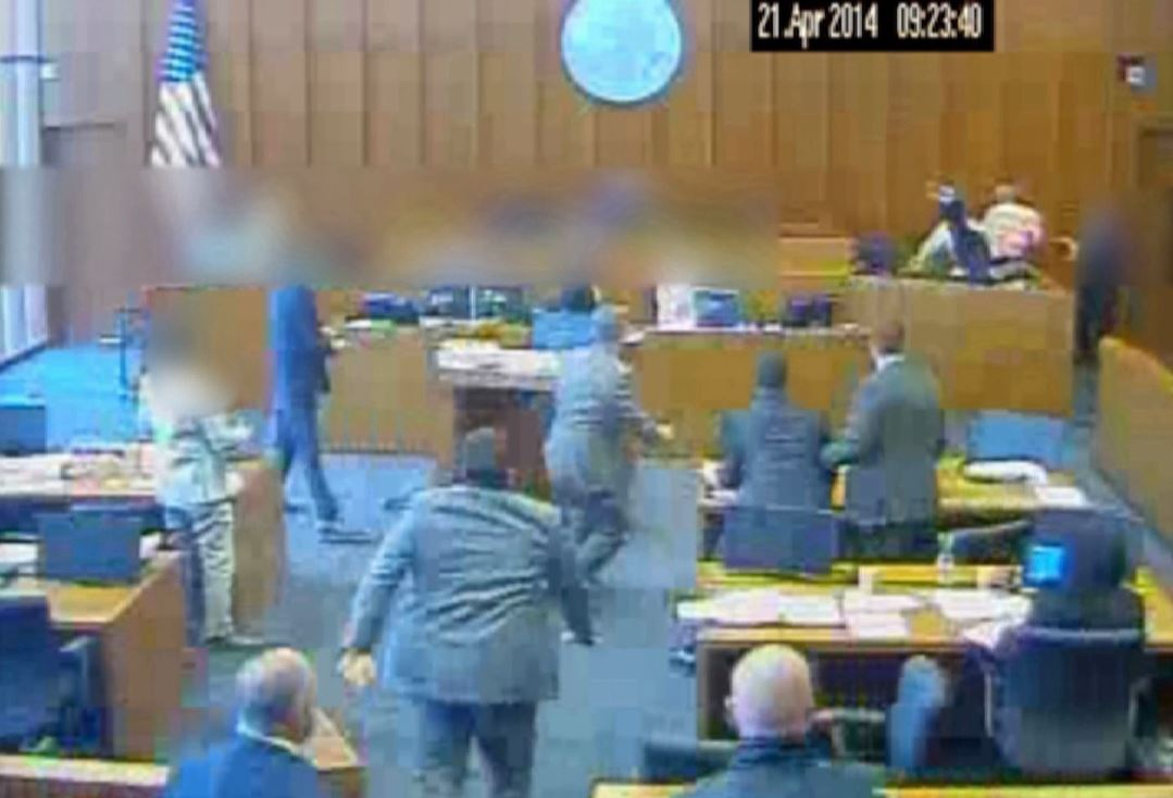 Video of 2014 Utah court room shooting released. (Photo: KUTV)