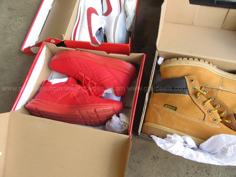A central Ohio county is selling off an assortment of collectible sneakers seized from a convicted drug dealer. (GovDeals)