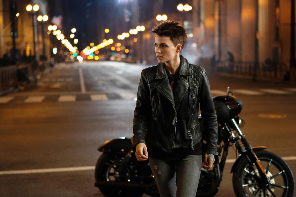 Ruby Rose as Kate Kane and Camrus Johnson as Luke Fox, coming this fall (The CW/ Elizabeth Morris)