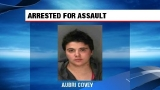 Police: Woman arrested after injuring two people with metal pipe