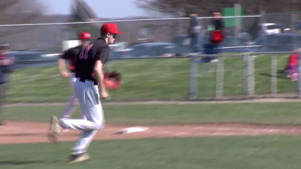 4.11.18 Highlights - John Marshall vs Steubenville - high school baseball