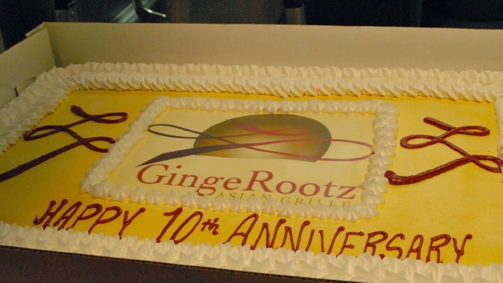 GingeRootz Asian Grille celebrates 10-year anniversary (Courtesy Doris Ng)