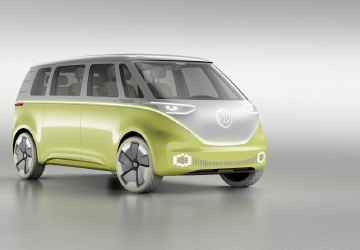Volkswagen reveals self-driving version of iconic camper van