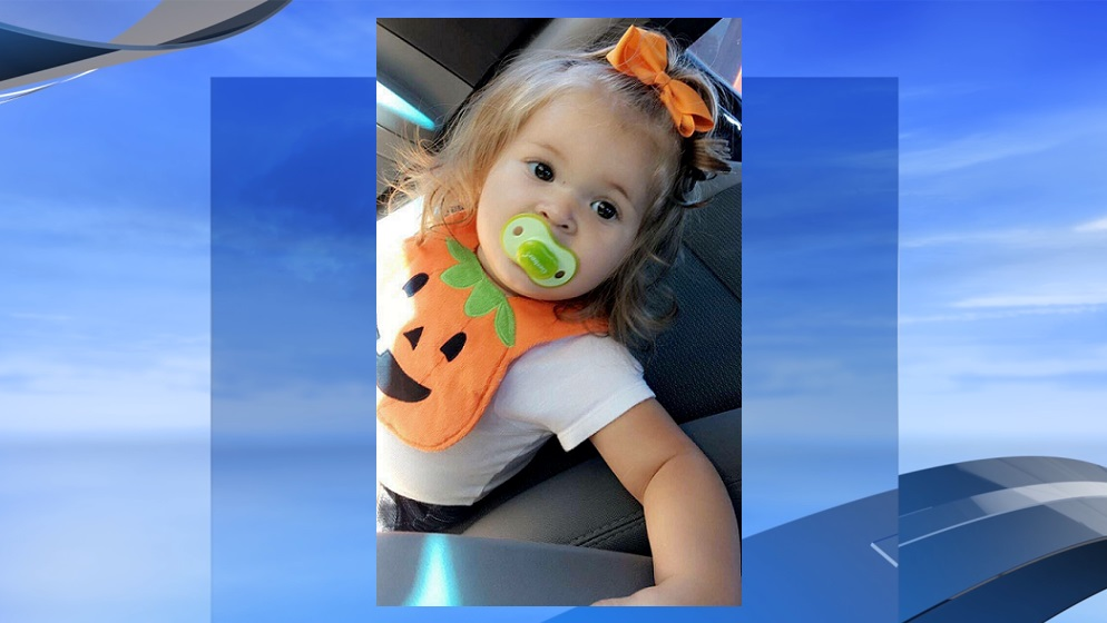 Kinsley Oxendine Scott (Photo provided by Shannon Oxendine. WPDE background)<p></p>