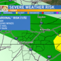 Be weather aware Monday-More strong/severe storms