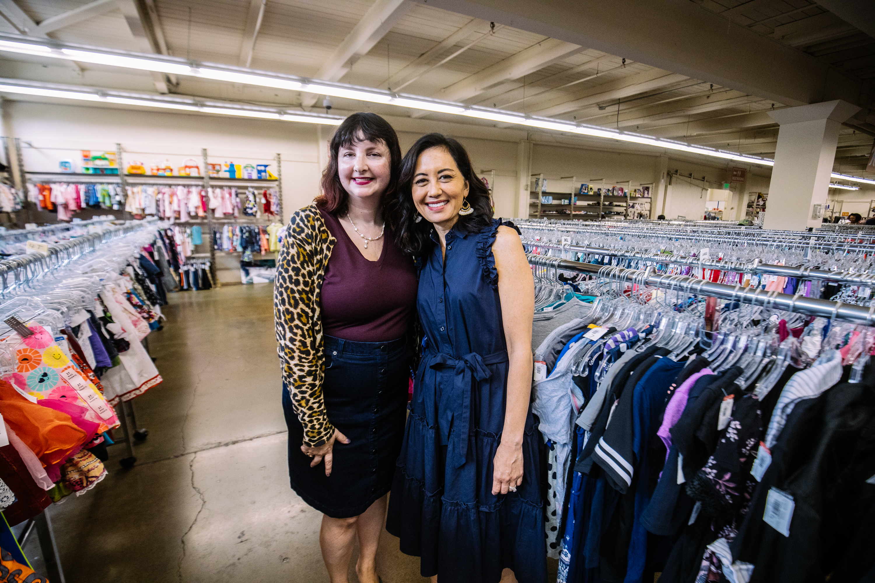 Seattle Goodwill is a great place for families to score the trendiest looks for back to school. That includes retro modern, flannel and  comfy cool! Plus Goodwill has new items for sale too, including backpacks and lunch boxes. (Photo: Seattle Goodwill){ }