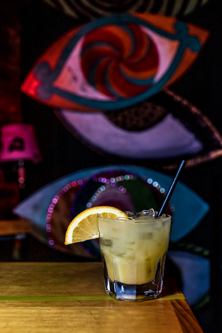 Mango Bite: Three Olives Mango, silver tequila, splash of OJ, and Sprite / Image: Catherine Viox{ }// Published: 12.26.19