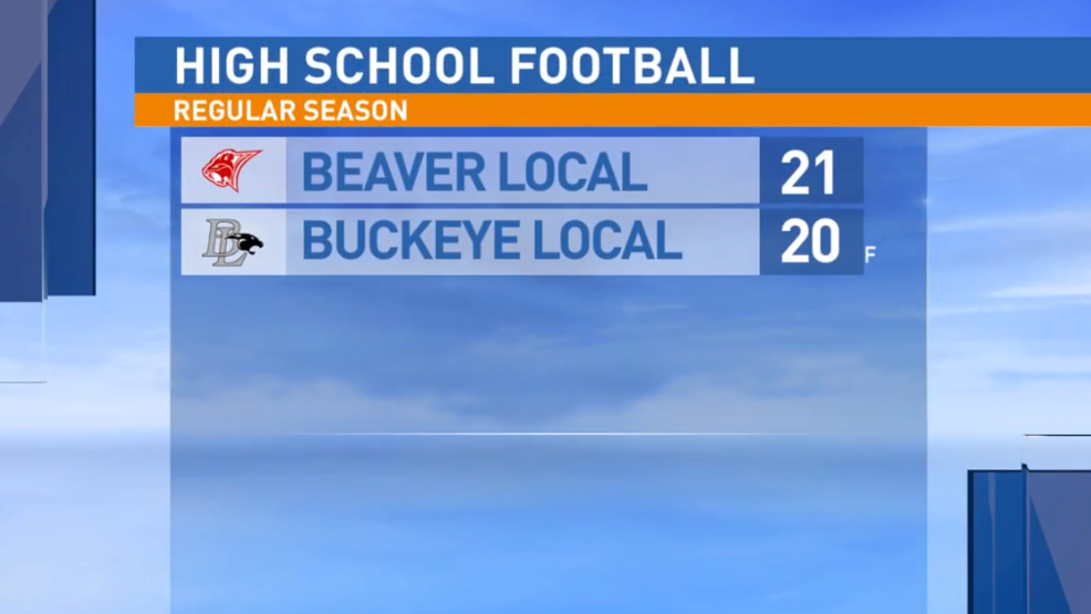 10.11.19 Highlights: Beaver Local at Buckeye Local