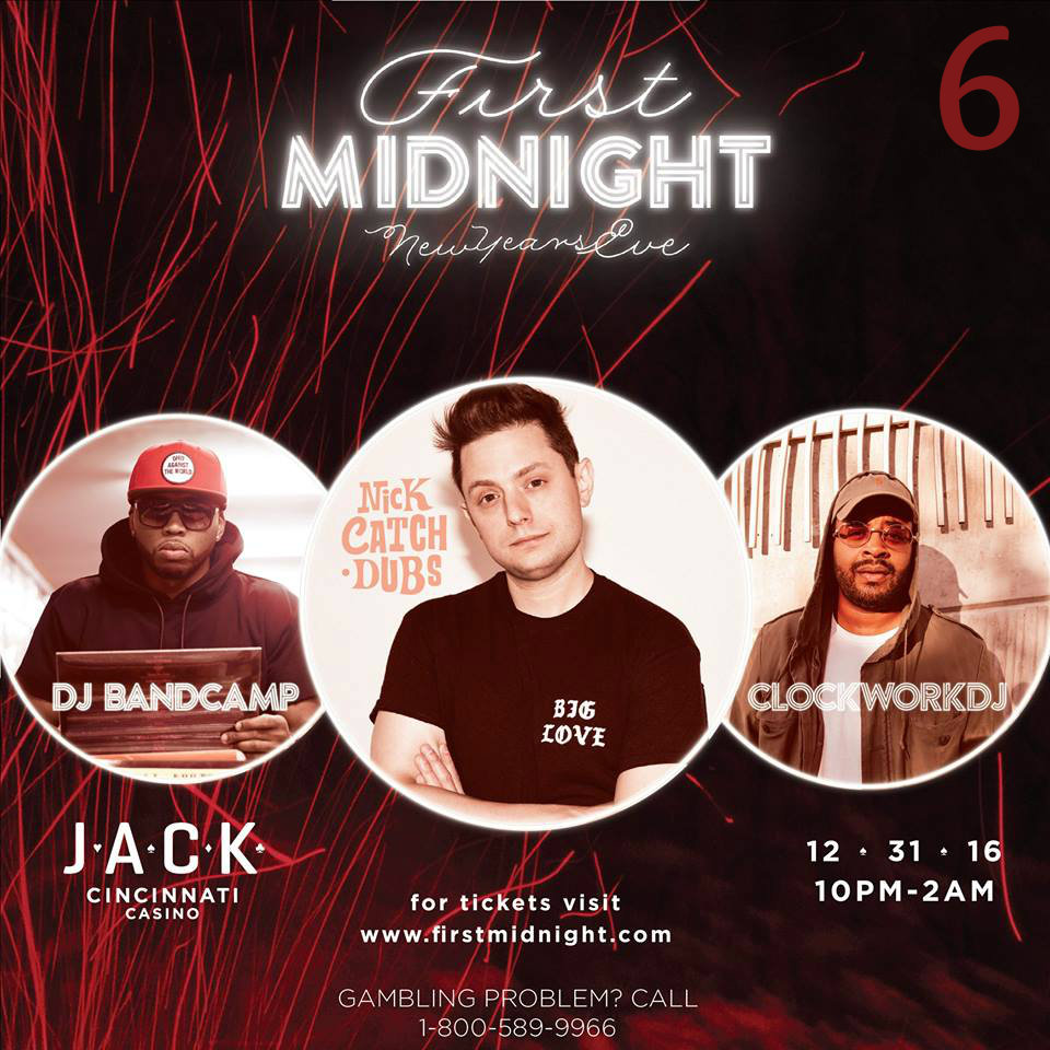 #6 - Although it's still a few weeks away, it's never too early to lockdown your NYE plans. Where to? ... Answer: First Midnight at Jack Casino