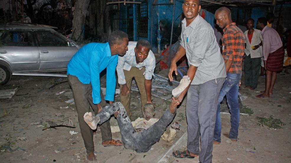 Hotel attack in Somali capital kills at least 2, police say   KVAL