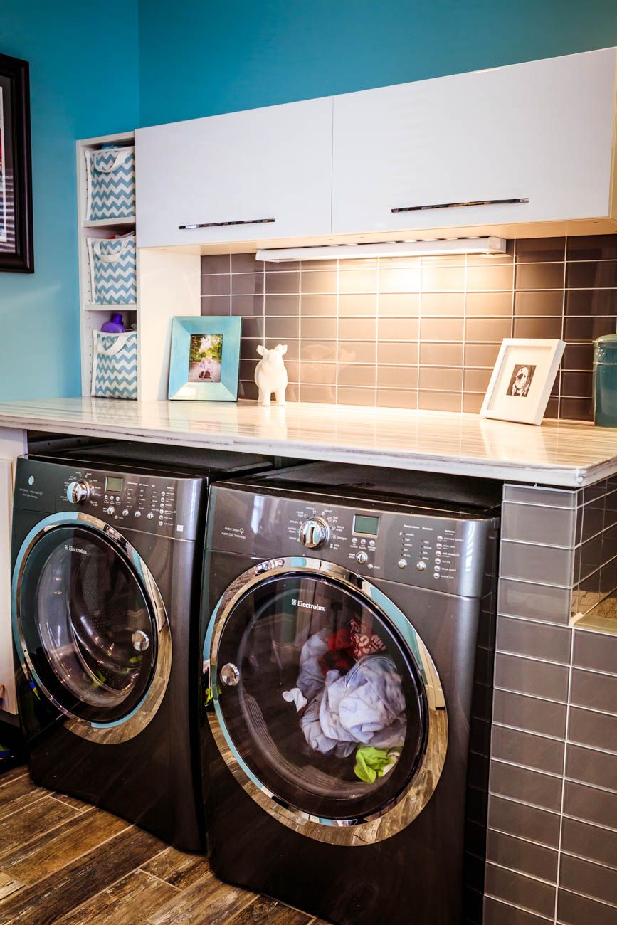 First-floor laundry room / Image: Amy Elisabeth Spasoff // Published: 3.13.18