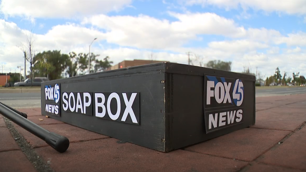 SPEAK YOUR MIND! FOX45's Soapbox is coming to YOUR district