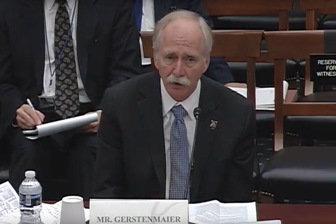 Associate Administrator for Human Exploration and Operations, National Aeronautics and Space Administration William H. Gerstenmaier /Photo: House Science, Space and Technology Committee/YouTube