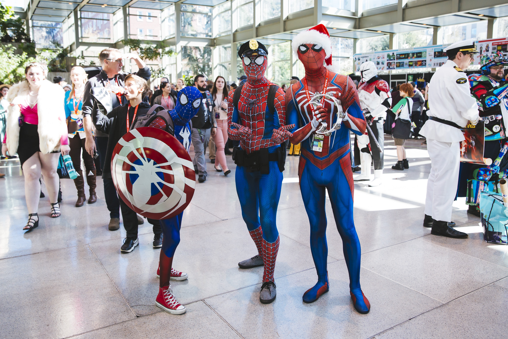 Emerald City Comic Con is the largest comic book and pop culture convention in the Pacific Northwest. Thousands come to the Washington State Convention Center in Seattle for 4 days of cosplay, comic books, celebrities, panels and more. This year, they're expecting upwards of 95,000 people! Today, (March 17, 2019) is the final day of ECCC. (Image: Sunita Martini / Seattle Refined)