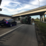 Septic truck rolls over on Florida turnpike, one lane back open