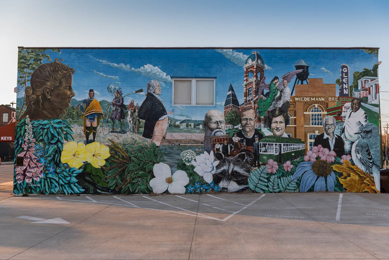 MURAL: A Tribute to Newport / ARTIST: ArtWorks / LOCATION: 1032 Saratoga Street (41071) / Image: Mike Menke // Published: 3.22.18