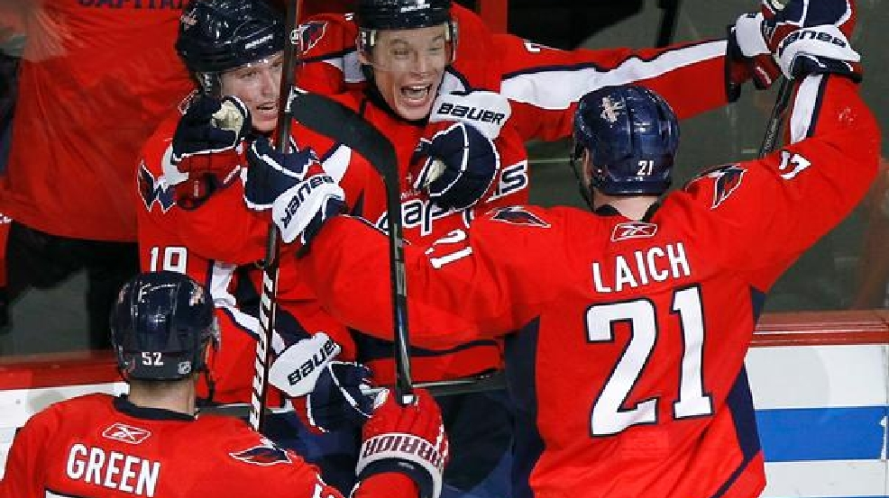 40875c25471 Capitals Playoffs 2011  Caps grab 1-0 series lead on Alexander Semin OT goal  (Video)