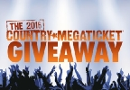 2016 Country Mega Ticket Giveaway