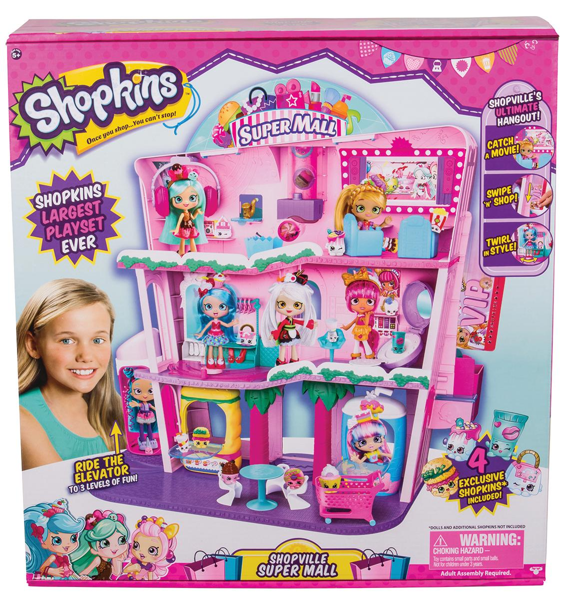 Shopkins Shoppies Super Mall/Photo courtesy of the Toy Insider