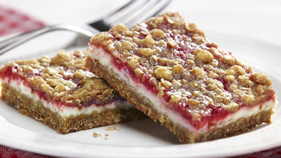 Raspberry Cheese Bars