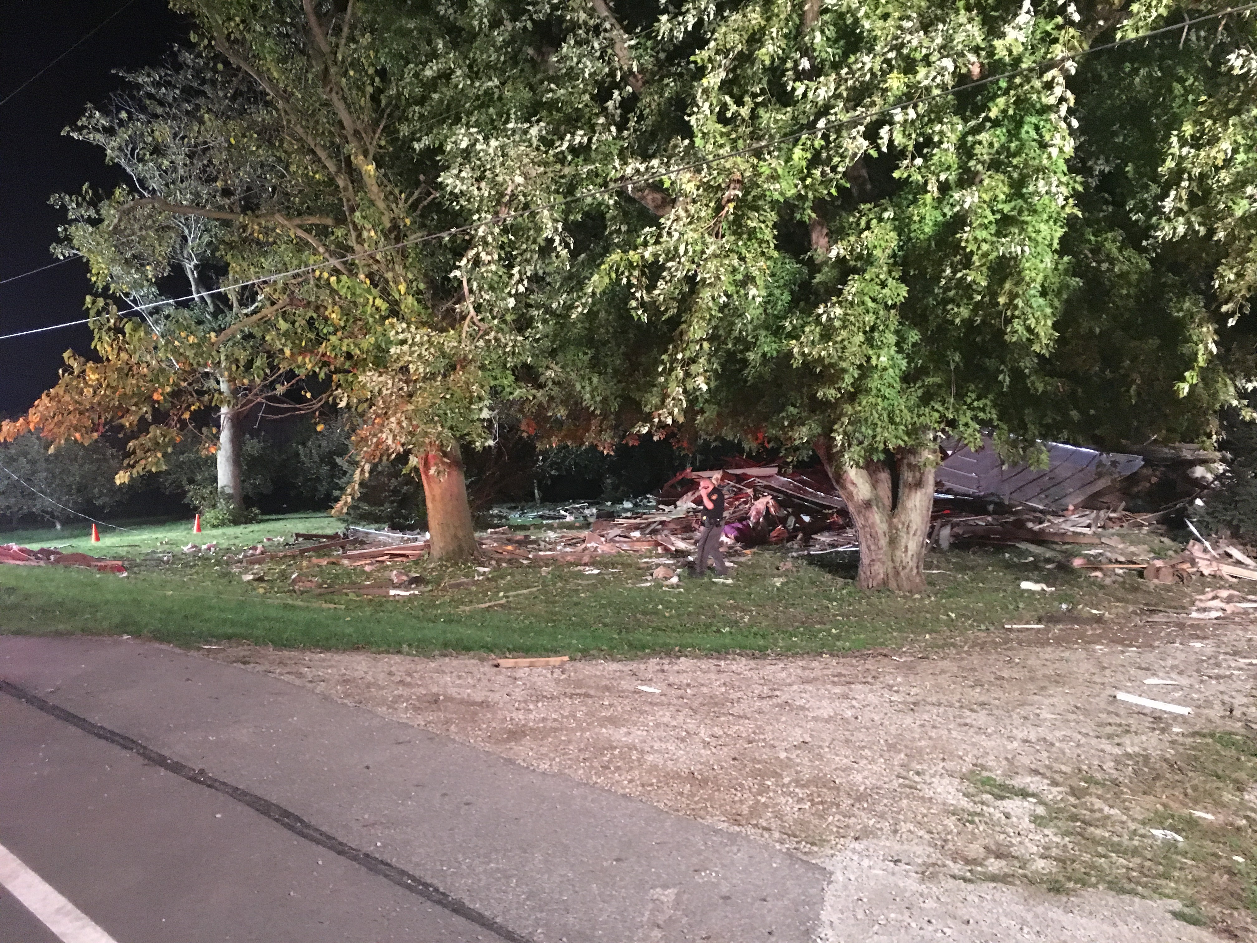 Multiple crews responding to reported house explosion in Clark County (WKEF/WRGT)