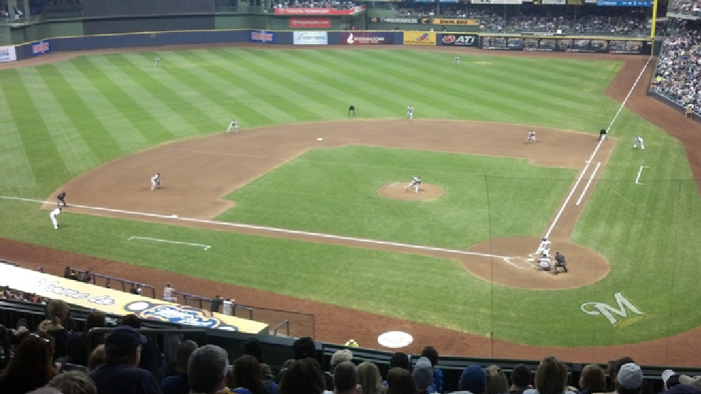 A Milwaukee Brewers game at Miller Park (WLUK file photo)